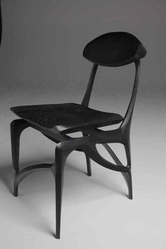 Nicely sculpted chair by PortfolioSeven36 Fine Woodworking LLC | Seven36 Fine Woodworking LLC