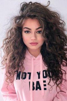 Medium Haircut for Curly, Thick Hair