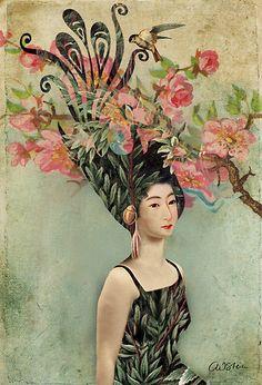 The cherry tree, by Catrin Welz-Stein