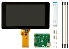 """Official Raspberry Pi 7"""" Touchscreen Display"""