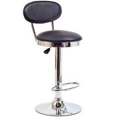 Modway Furniture  Retro Bar Stool in Black - EEI-636