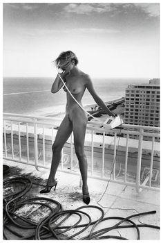 Helmut Newton, Celia, Miami, 1991