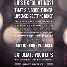 Stick with your LipSense! It's worth it - heal your lips! #lipsense