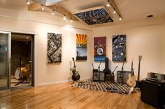 The Motor Museum Recording Studio Liverpool | Miloco - Absorption panel ideas