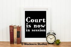 Court is now in session - Bailiff Gift - Trial Court - Lawyer Art - Defense Attorney - Prosecutor - Civil Procedure - Rules of Practice Standard Poster Size, Law Office Decor, Civil Procedure, Lawyer Gifts, Georgetown University, School Gifts, Criminal Justice, Digital Prints, Court Reporter