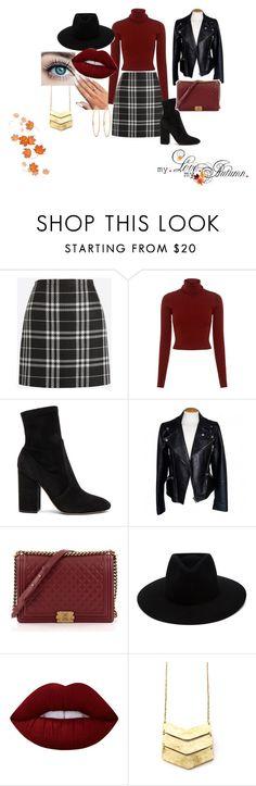 """Autumn #2"" by modefan2 on Polyvore featuring mode, J.Crew, A.L.C., Valentino, Alexander McQueen, Chanel, rag & bone, Lime Crime et Henri Bendel"