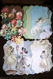 Shabby Beautiful Scrapbooking Just 5 of thiese chipboard mini kits available