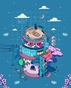 🎶Music: Ghost Choir by Louie Zong fondos videos ✨👻✨👻✨👻✨ 𝚁𝚘𝚗𝚊𝚕𝚍 𝙺𝚞𝚊𝚗𝚐 Arte Do Kawaii, Kawaii Art, Japon Illustration, Cute Illustration, Japan Design, Animes Wallpapers, Cute Wallpapers, Aesthetic Art, Aesthetic Anime