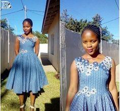Shweshwe Dresses & wedding guest South Africa - Reny styles
