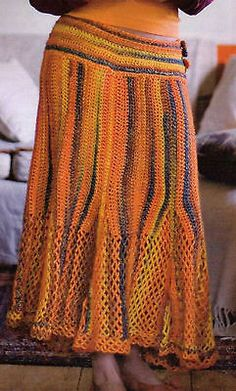 CITRINE SKIRT CROCHET PATTERN I have the perfect yarn, and it's been stashed since 2010. Maybe I'll actually make a gauge swatch this year lol