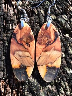 Super Amazing Spalted Apple And Resin Wood by forestlifecreations