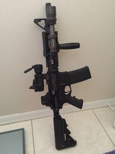 : silencersteve:   Colt MK18 (clone) SBR
