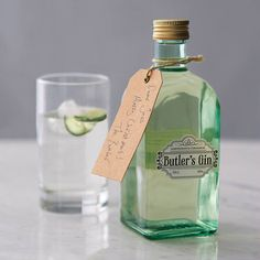 lemongrass and cardamom gin by butler's gin | notonthehighstreet.com! YUM! Got to try this!