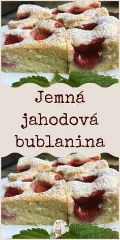 Food Porn, Czech Recipes, Cereal, Food And Drink, Baking, Breakfast, Sweet, Desserts, Cakes
