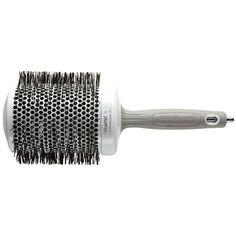 "Ceramic Ionic Round Thermal Hair Brush 4 1/4"" CI-80 by Olivia Garden"