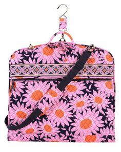 Pink And Orange Vera Bradley Garment Bag Bags