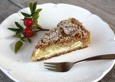 Sypaný jablkový koláč s tvarohom, bezlepkový recept, glutenfree recipe