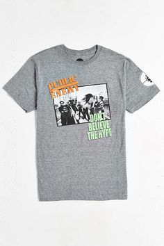 Public Enemy Hype Tee - Urban Outfitters
