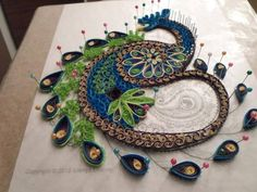 A  single photo tutorial - quilling by: Glenys Cooney