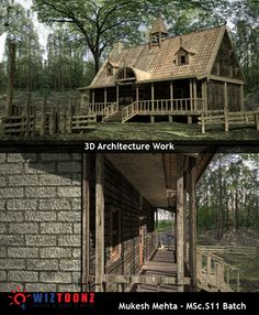 Student Work – 3D Architecture work by Mukesh Mehta of MSc.S11 batch  #3DArchitecture #3D