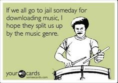 Music lovers #Someecards