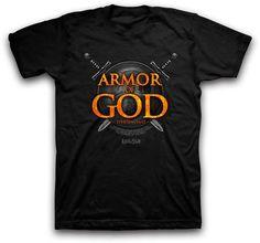 Kerusso Christian T-Shirt | Armor of God