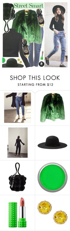 """""""Street Style-She is rebel"""" by sheisrebel on Polyvore featuring Alexander Wang, Suva Beauty and Kat Von D"""