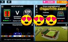 Dream League Soccer 2020 Sınırsız Elmas Hilesi Mod Apk İndir Game 4, Samba, Arcade Games, Soccer, Futbol, European Football, European Soccer, Football, Soccer Ball