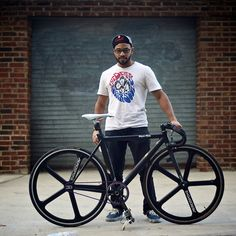 Big Dre and his Super Pista | cycleangelo.cc/post/1401625311… | Flickr