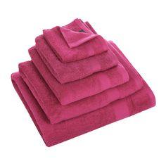 Buy Christy Bamford Towel - Fuchsia - Bath Towel | Amara