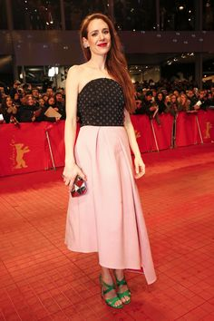 Pin for Later: Das war die 65. Berlinale - seht hier die besten Bilder! Tag 1 Julia Malik