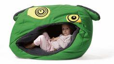 Příjemné útočiště poskytne dítěti sedací vak Obludöö, 100 x 85 x 60 cm, Tuli, cena 4 890 Kč, www.tuli-tuli.cz