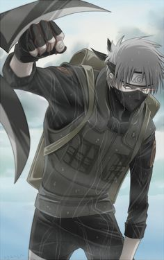 Day Kakashi Hatake, because he is one sexy man! I have a lot more but I've been watching Naruto more often than most other anime so yeaaaa Kakashi Hatake, Naruto Uzumaki, Madara Uchiha, Anime Naruto, Sasuke Vs, Shikamaru, Naruto Art, Gaara, Anime Guys