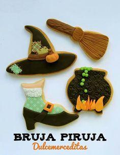 Thanksgiving Cookies, Fall Cookies, Holiday Cookies, Halloween Cookies Decorated, Halloween Cupcakes, Decorated Cookies, Halloween Food Crafts, Halloween Treats, Halloween Foods
