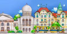 Tóth Ágnes: Zireg zörög - Öreg járgány Taj Mahal, Mansions, House Styles, Building, Travel, Human Body, Autos, Lego Building, Viajes