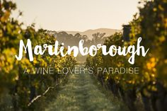 Elissa has put together a Martinborough Winery Guide including her favourite wines, wineries and places to visit in this popular New Zealand wine region.