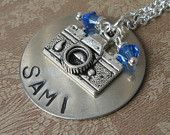 My camera necklace was included in this treasury!