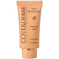 CoverDerm Skin Protector - This soothing, hydrating makeup base is enriched with skin-hydrating ingredients that improve the look and evenness of skin tone before and after makeup application. Mascara, Eyeliner, Eyeshadow, Makeup Tips, Eye Makeup, Makeup Products, Foundation Primer, Natural Eyes, Makeup Application