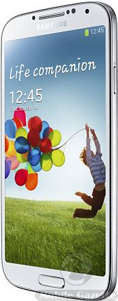 Samsung Galaxy S4 - a bigger screen, faster processor, better camera and a load of other cool stuff.