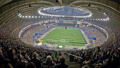 Fantastic picture of the Impact Stadium