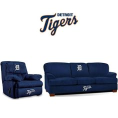 Detroit Tigers Microfiber Furniture Set  at SportsFansPlus.com