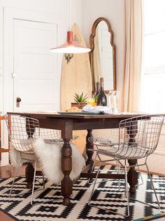 cozy dining space #decor #salasdejantar