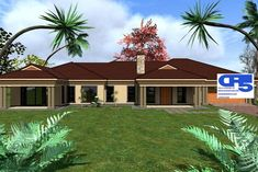 A AAHouse Plan No W1920 5 Bedroom House Plans, House Plans Mansion, Family House Plans, Dream House Plans, House Floor Plans, My Dream Home, Village House Design, Village Houses, Beautiful House Plans
