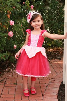 SLEEPING BEAUTY   dress  pink Princess by loverdoversclothing