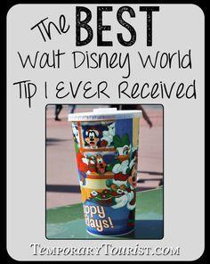 The Best Walt Disney World tip I have received.... it has saved me HUNDREDS of dollars!
