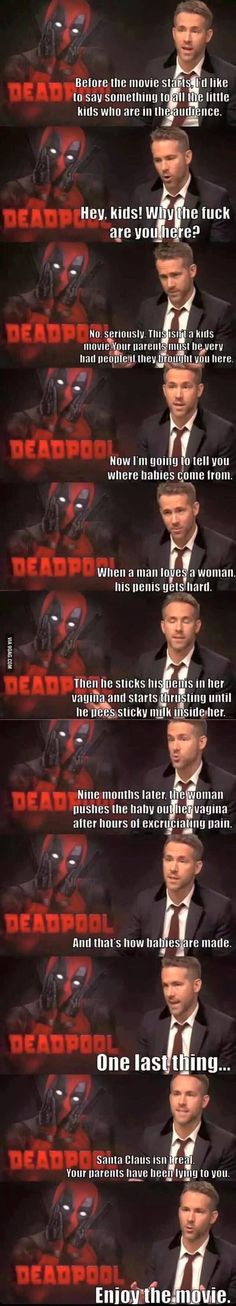 Ryan Reynolds is Deadpool - 9GAG