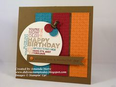 Did You Stamp Today?: Happy Maculine Birthday!