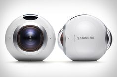 Sporting an eyeball-like design and a camera on either side, the Samsung Gear 360 VR Camera makes capturing 360-degree footage and stills a snap. It connects to the S7 and S7 Edge over Bluetooth and Wi-Fi, letting them serve as...