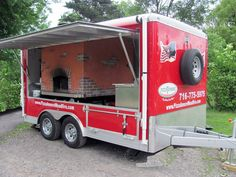 Mobile Wood Fire Brick Oven