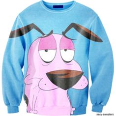 THIS COURAGE THE COWARDLY DOG SWEATSHIRT on The Hunt